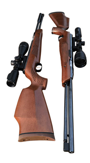 Air Arms TX200 and Beeman HW97K
